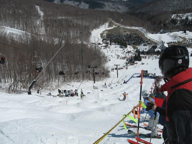 Bear Mountain Mogul Challenge. A Killington tradition.