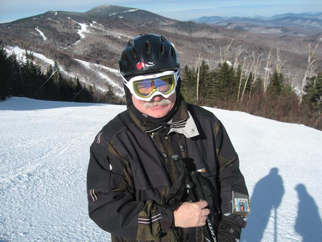 Bill on Bittersweet at Killington