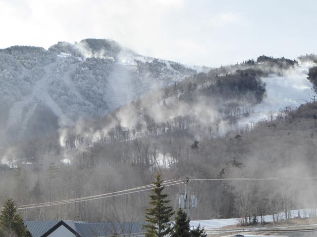 Snow you can count on. The Killington Resort prides itself on it's snow makeing capabilities.